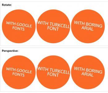 DIV网页布局代码HTML和CSS设计橘黄色圆形文本旋转显示样式效果