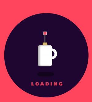 创意图像卡通loading制作代码CSS圆角样式表绘制圆形卡通杯子图像效果