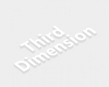 3D网页文字UI设计效果HTML标签属性代码CSS3设计3D立体文字视觉效果