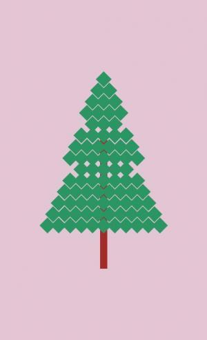 JavaScript特效设计与制作CSS3选择器属性设计简单卡通动态圣诞树图像