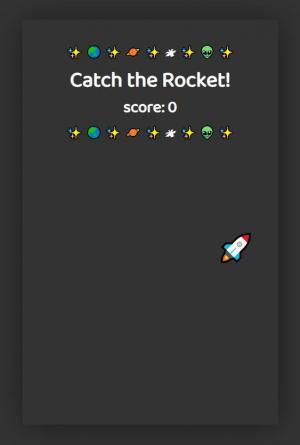 免费特效素材网站设计代码vue.js绘制简单火箭飞行图像动画场景