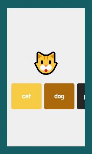 卡通图像设计与制作JS网站特效设计动物卡片图像鼠标点击滑动切换效果