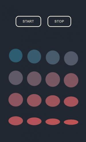 CSS图形动画设计HTML5网页制作代码实现鼠标点击按钮设置动画场景