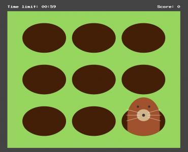 特效素材网站大全HTML网页制作代码react.js设计制作简单打地鼠游戏
