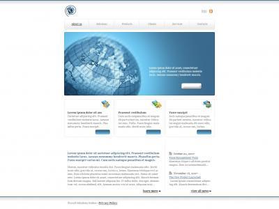 互联网公司网站建设模板免费下载HTML5制作服务公司网站模板