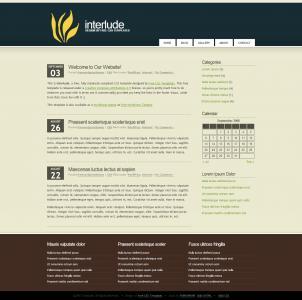 SEO技术博客网站建设HTML设计主黑色风格背景个人网站模板