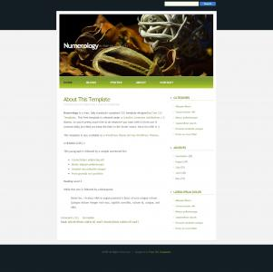 带banner大图的个人网站模板设计与制作素材网站模板免费下载