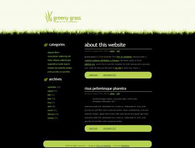 环保网站建设与制作建站公司设计具有环保风格的模板网站