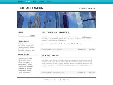 深圳科技公司网站设计HTML5与CSS制作简约科技网站模板