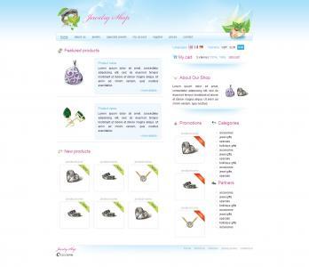 展示型网站设计与制作素材网设计国外商城网站模板静态页面