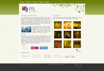 平面设计公司设计简单艺术产品展示网站模板免费模板网站下载