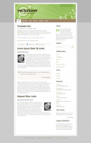 HTML5布局制作个人博客网站模板创意简约个人模板网站下载