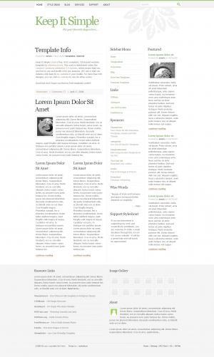 武汉建设公司设计大气清晰个人博客网站静态页面博客模板下载网站