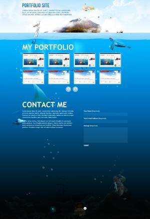 带留言版功能的大气企业网站静态模板