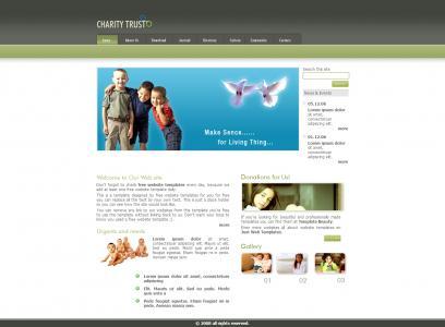 清晰简洁中小企业英文模板网站
