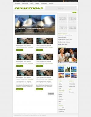国外产品展示型网站静态网页免费下载
