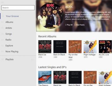 html5网站制作html代码网页布局简单个人音乐网站