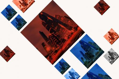 css3网格布局相册网站图片特效代码