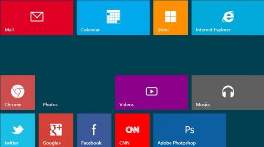 html5和css3网页布局设计制作Windows8风格样式代码网页九宫格布局代码