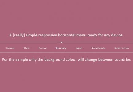 jQuery滚动代码与css3样式表制作多设备滚动导航菜单网站导航样式代码