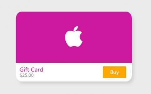 纯css3样式代码制作带阴影效果的3D圆角信用卡片卡片样式代码