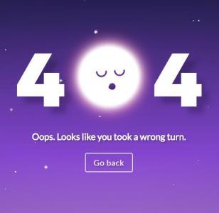 网页404静态页面设计与制作css3动画属性代码制作超有创意的404页面