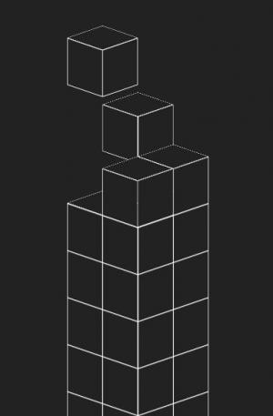 css3动画属性代码实现3D立方体掉落叠加效果网页3D素材大全免费下载