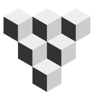 canvas画布绘制带视觉效果的3D立方叠加样式代码html网页3D素材大全下载