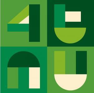 纯css3样式表设计制作超有创意的数字字母组成海报样式代码网页海报素材下载