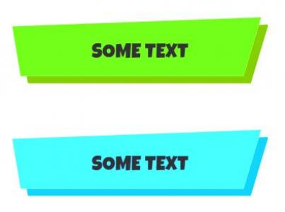 超有个性的梯形弹性伪元素按钮鼠标悬停弹性式切换动画效果网页按钮素材设计与制作