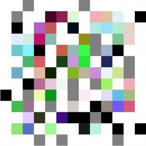JavaScript代码实现css3绘制的多彩单元格小方块翻转图动画效果js网页特效大全