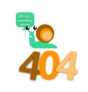 HTML5网页静态页面制作带蜗牛行走的404动画效果网站404素材下载