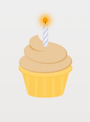 纯CSS制作带烛光的卡通生日蛋糕图像样式代码HTML网页标签大全网页素材免费下载网站