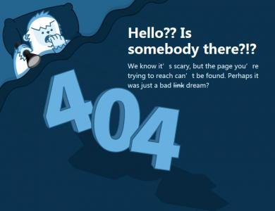 html网页404页面设计与制作网站404页面模板免费下载