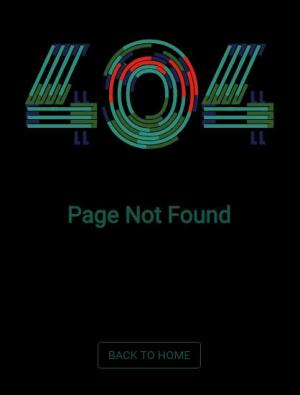 html网页文字特效代码css3样式表制作带线性移动动画效果的404页面