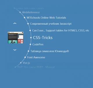 js特效代码实现点击箭头项目滑动切换展示动画效果