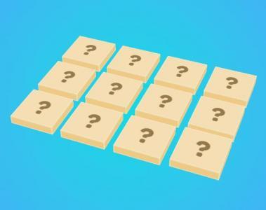 JavaScript代码制作简单的3D小方块翻转游戏HTML网页游戏设计与制作