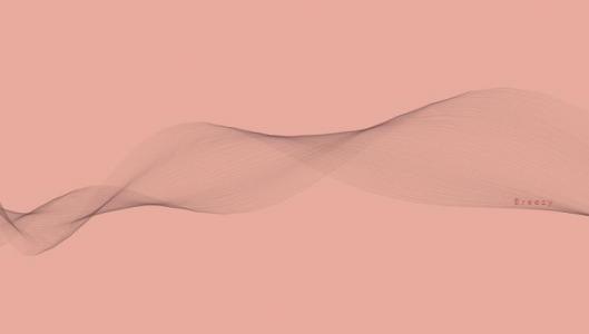 JavaScript网页素材代码canvas画布绘制漂浮彩带动画效果