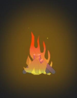 纯CSS3制作卡通火种图像效果网页卡通素材大全