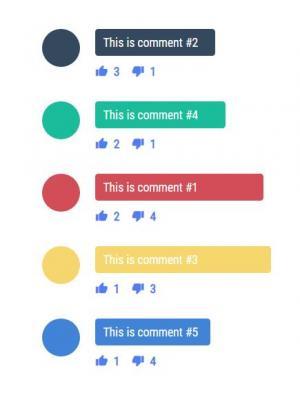 jQuery代码与CSS3设计带色彩效果的点赞图标网站评论素材下载