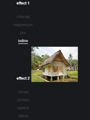 网站图片特效HTML5超链接实现鼠标悬停显示图片特效