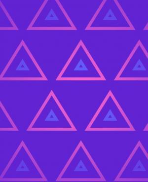 HTML网页背景动画素材大全CSS3选择器制作三角形缩放图案动画效果