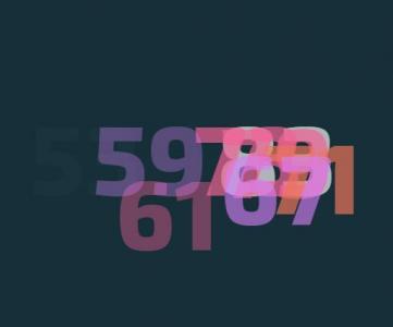 站长素材特效代码jQuery与CSS3属性制作数字自动查找动画特效