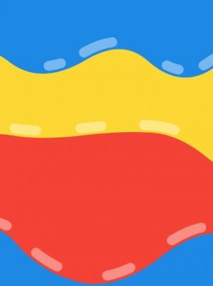 基于canvas画布代码绘制液体色块波动滑动动画效果js网页特效代码