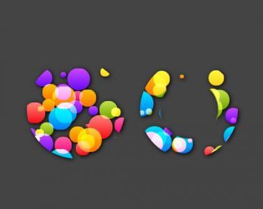 纯CSS3网页动画特效代码实现透明圆球气泡滑动效果
