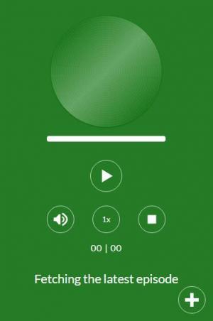 网页播放器大全HTML和CSS3属性制作绿色风格的网页音乐播放器