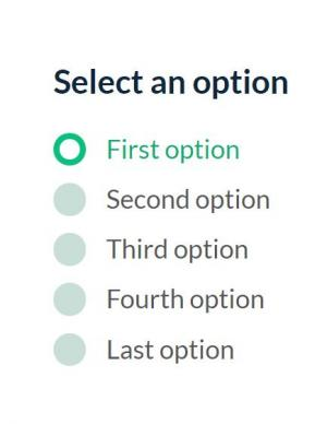 CSS3样式表美化radio单选按钮鼠标点击按钮实现按钮状态切换效果