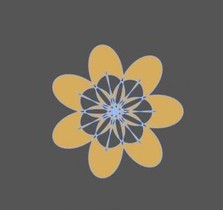 js代码与CSS3动画属性绘制花朵图案缩放效果网页花纹素材设计大全
