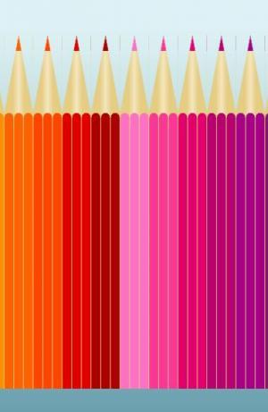 CSS3选择器制作色彩铅笔站长素材拾色器调色板网页免费下载网站