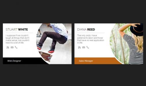 HTML5标签代码与CSS3制作大气卡片图像鼠标经过卡片图像滑动效果